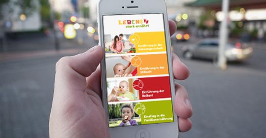 Kostenlose App: Der mobile Ernährungshelfer für Mutter und Kind